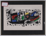 "<h5>""Star Scene [Collector's Guild"" by Joan Miro (N/D)</h5><p>Approx. 13""x21""; Color lithograph BMAS 1060</p>"