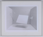 "<h5>""Cage's Riddle"" by David Horton (1995)</h5><p>Approx. 16""x19""; Photographic print BMAS 1003</p>"