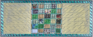 "<h5>""Untitled [Patchwork]"" by Unknown (N/D)</h5><p>Approx. 22""x49""; Mixed media BMAS N/N</p>"