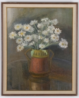 "<h5>""Untitled [Daisies]"" by Unknown (N/D)</h5><p>Approx. 24""x36""; Oil on canvas BMAS N/N</p>"