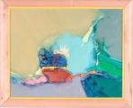 "<h5>""Flight"" by Veselin Kurtev (1999)</h5><p>Approx. 14""x18""; Acrylic on canvas BMAS 1074</p>"
