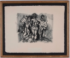 "<h5>""Untitled [3 Figures]"" by Robert Arthur Goodnough (N/D)</h5><p>Approx. 20""x26""; Lithograph BMAS 1087</p>"