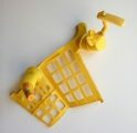 <h5>Yellow Form</h5><p>Grid collected plastic and hardware</p>
