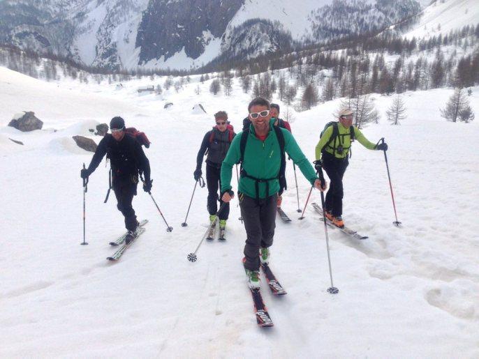 Skitouren Valmaira / Tolle Gruppe