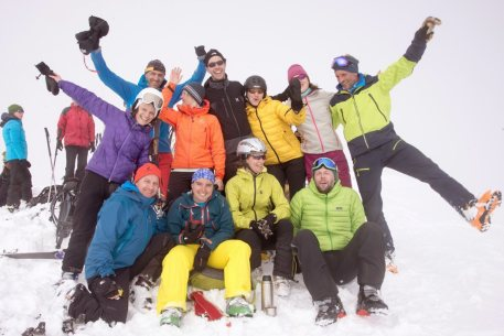 Skitouren Valle Maira 2015 / Super Gruppe