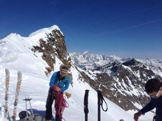 Südtiroler Bergführer Ausbildung / Seilhändling