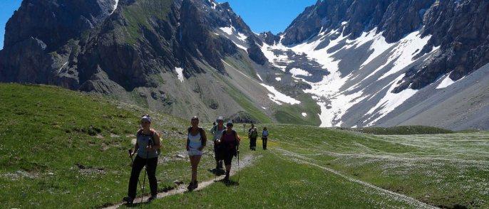 Wanderwoche Valle Maira / Wandergruppe