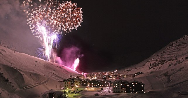 Acoustic Fireworks in Zürs