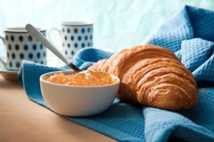 Frühstück Bergland Appartements lech