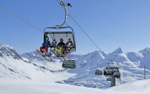 Lech Zuers Ski Arlberg - Modernste Liftanlagen - Bergland Appartements