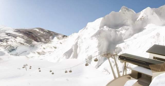 spectacular views of impressive Arlberg mountain range