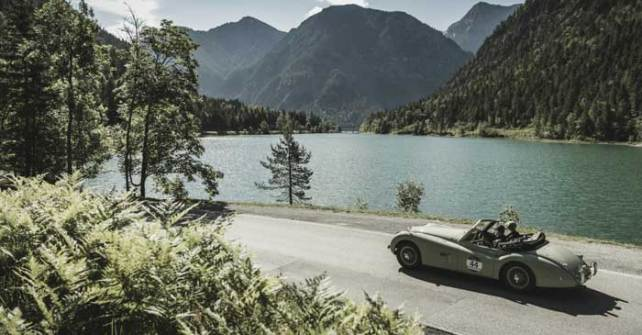 Arlberg Classic Car Rally: Etappe LECH CANYON