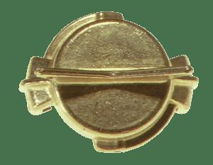 Messing Schlauchstück - Blindkupplung