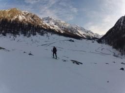 Kurz vor dem Eishof