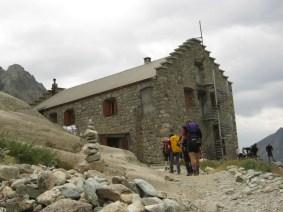 Unsere Hütte, Refuge Glacier Blanc (2550 m)
