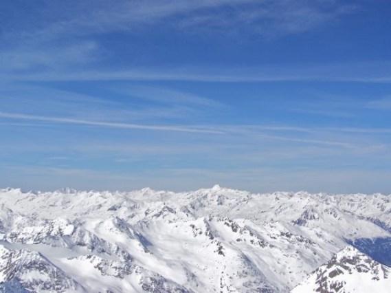 Weißkugel und Wildspitze
