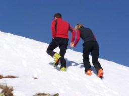 Letze Meter zum Gipfel