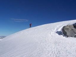 Fast auf dem Gipfel
