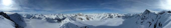 Gipfeltaugliches Panorama
