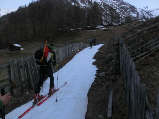 Aufstieg nach Tisenhof