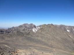 Gegenüberliegende Gipfel