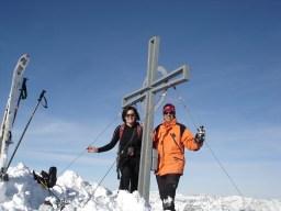 Wir mit Gipfelkreuz