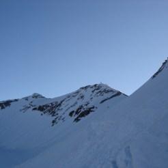 Der Steilhang nach der Weisszintscharte