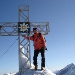 Super Wetter und Verhältnisse am Gipfel