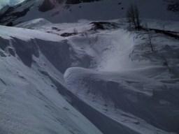 Extreme Schneeverehungen