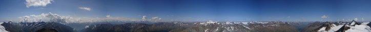 Panorama vom Similaun