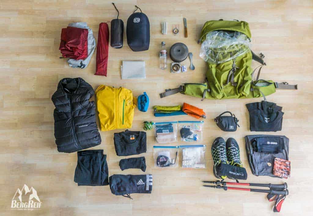 Drei Zimmer Küche Proviant : Trekking packliste für eine mehrtägige trekkingtour bergreif