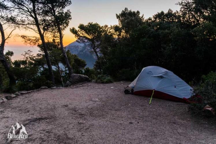 Wildcampen Mallorca GR221 Wild Zelten