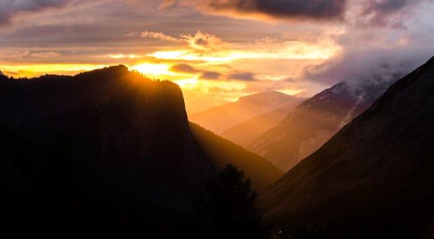 Bergfotos Tipps Goldene Stunde