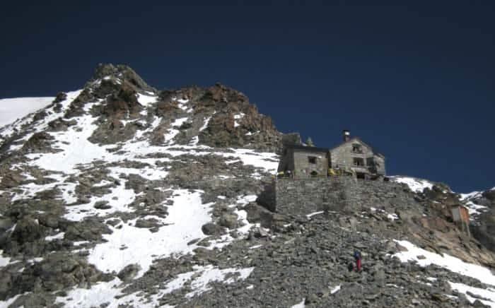 Alpenhütten Dent-Blanche-Hütte