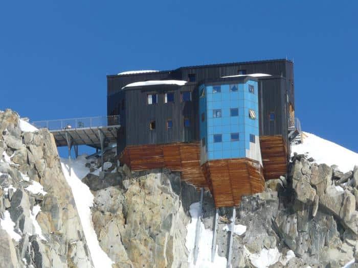 Alpenhütten Refuge de Cosmiques