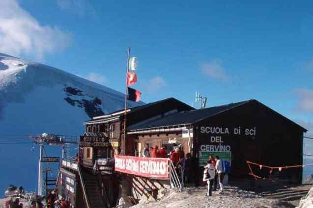 Alpenhütten Refugio Guide del Cervino