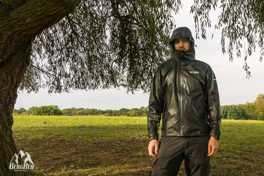 columbia outdry jacke test