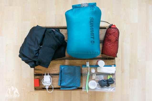 Packliste Winter Wandern Hüttentour