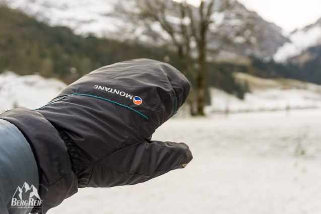 Packliste Winter Wandern Montane Prism Mitts