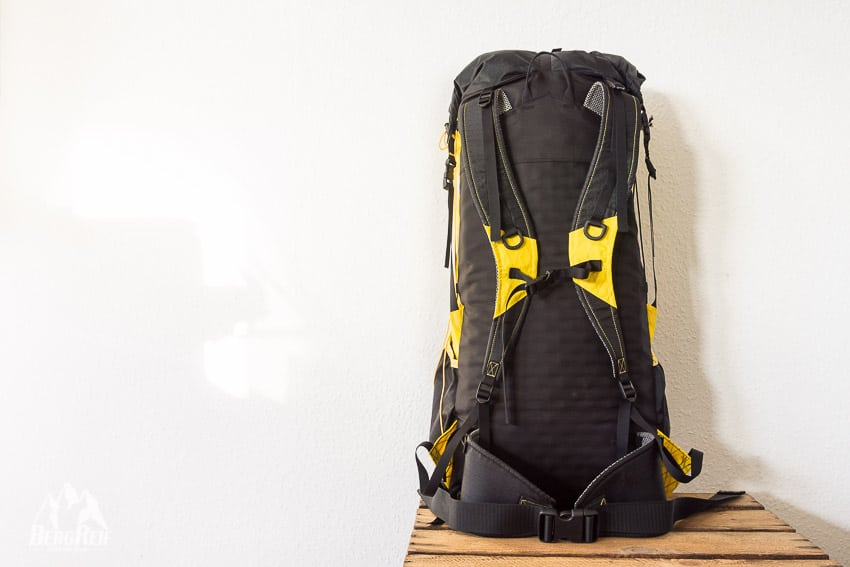 DIY Rucksack selber nähen - Ultraleichter Trekkingrucksack - BergReif
