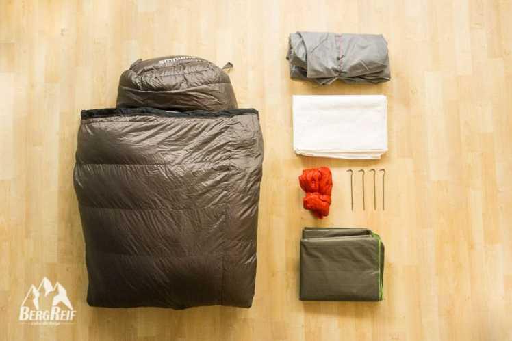 Packliste für Frauen Leichte Wanderausrüstung
