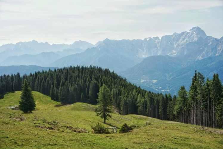 Karnischer Höhenweg Südalpenweg Alpenüberquerung Wien Nizza