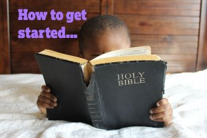A Bible study order to start with