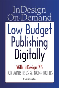 Tips & Techniques for on-demand publishing with InDesign 7.5