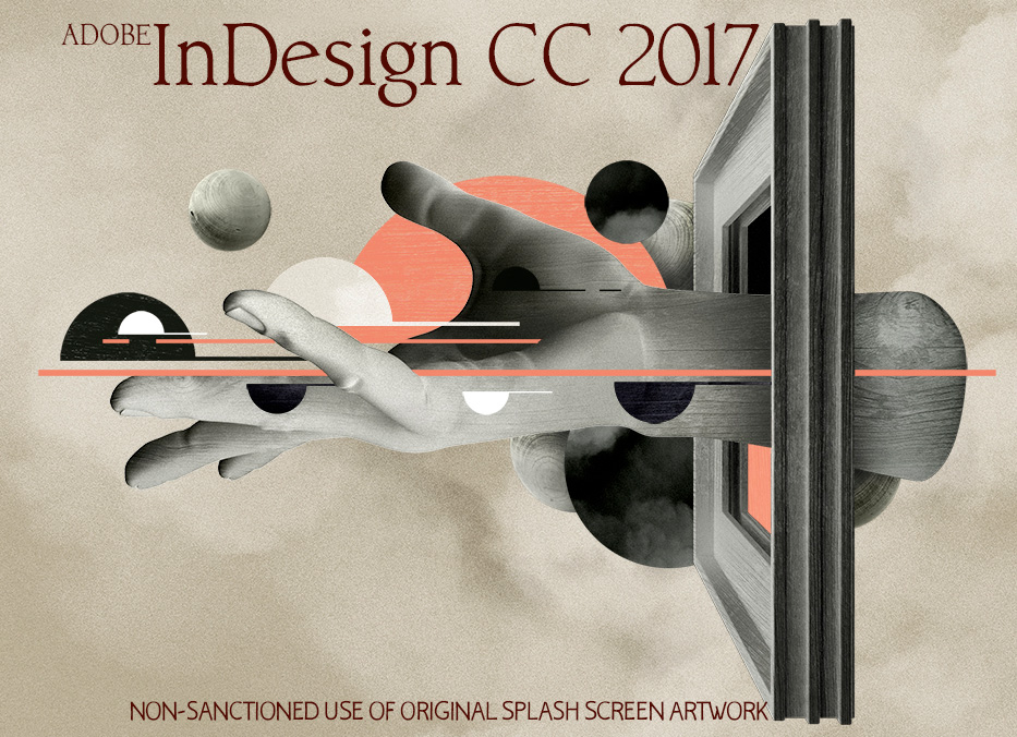 InDesign CC 2017 whimpers artfully