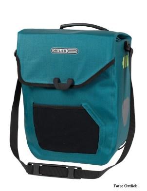 ORTLIEB E-MATE, wasserdichte Fahrradtasche (Einzeltasche) für E-Bikes mit Akkufach,
