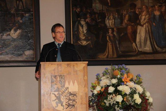 Norbert Heiland, Vorsitzender der Bergwacht Bayern