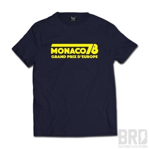 T-shirt Monaco 78 Grand Prix d'Europe Navy