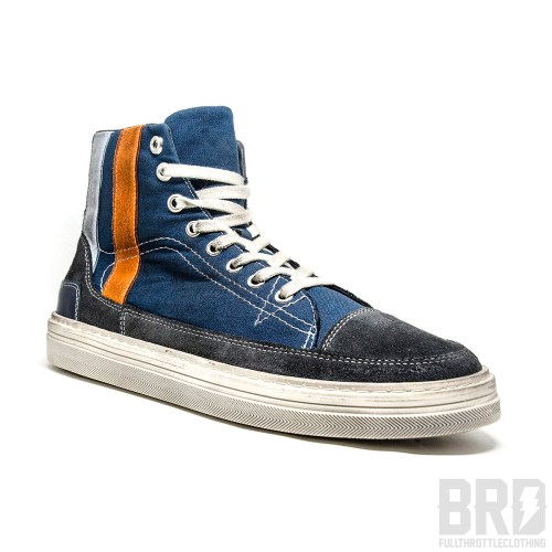 High Sneakers Navy Blue Limited Edition