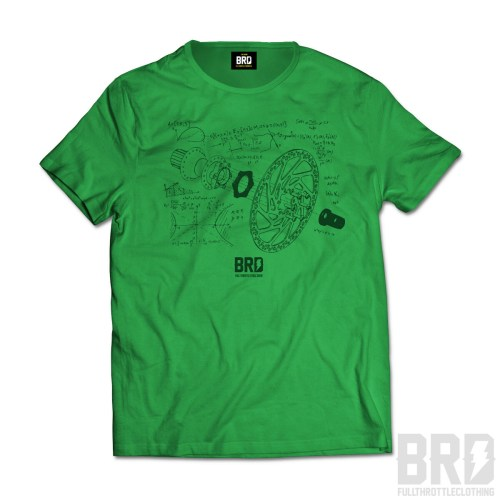 T-shirt Brake EXP Green